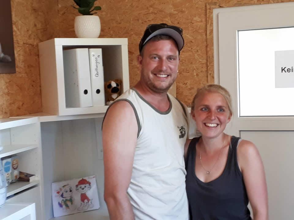 Tag der offenen Hoftüren: Stefan und Susi Gerber